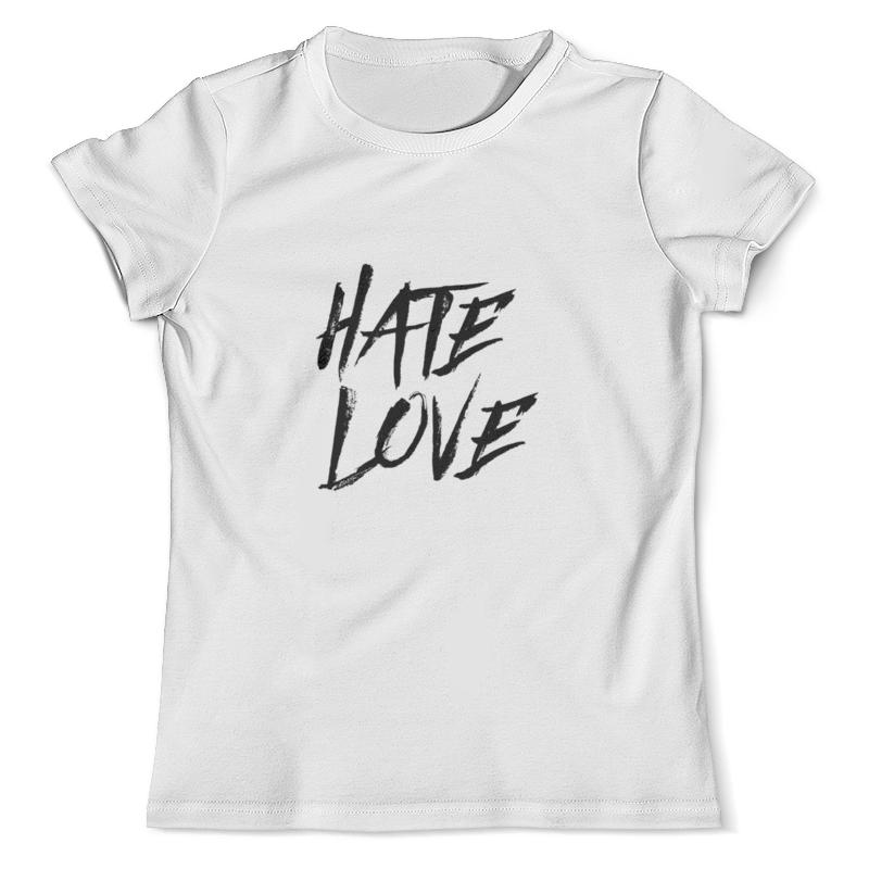 Футболка с полной запечаткой (мужская) Printio Рэпер face hate love кепка printio рэпер face hate love