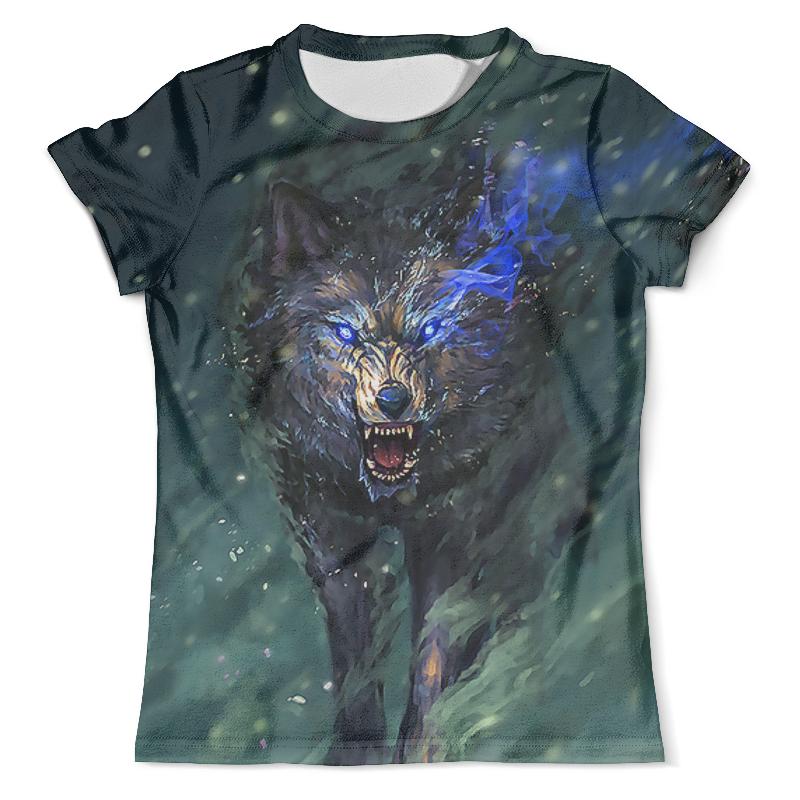 Футболка с полной запечаткой (мужская) Printio Wolf spirit футболка rebel spirit rebel spirit re032emspj40
