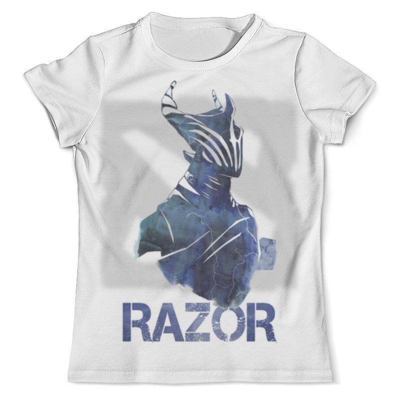 Футболка с полной запечаткой (мужская) Printio Razor dota 2 футболка с полной запечаткой мужская printio faceless void dota 2