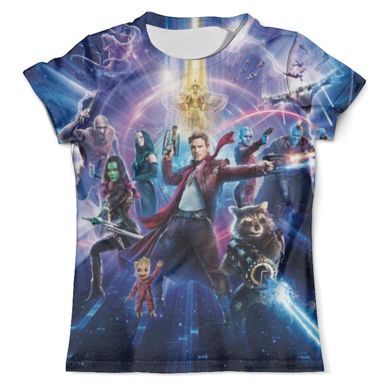 Футболка с полной запечаткой (мужская) Printio Стражи галактики футболка с полной запечаткой мужская printio ракета и грут стражи галактики