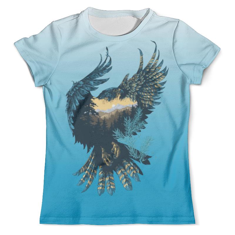 Футболка с полной запечаткой (мужская) Printio Орел арт футболка с полной запечаткой мужская printio орел арт 1