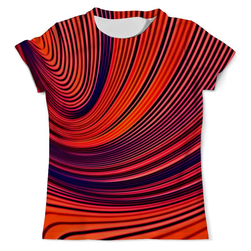 Футболка с полной запечаткой (мужская) Printio Цветные полосы футболка с полной запечаткой мужская printio цветные текстуры