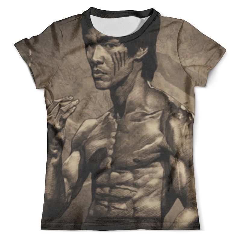 Футболка с полной запечаткой (мужская) Printio Брюс ли футболка с полной запечаткой мужская printio важнейшее из искусств винтаж