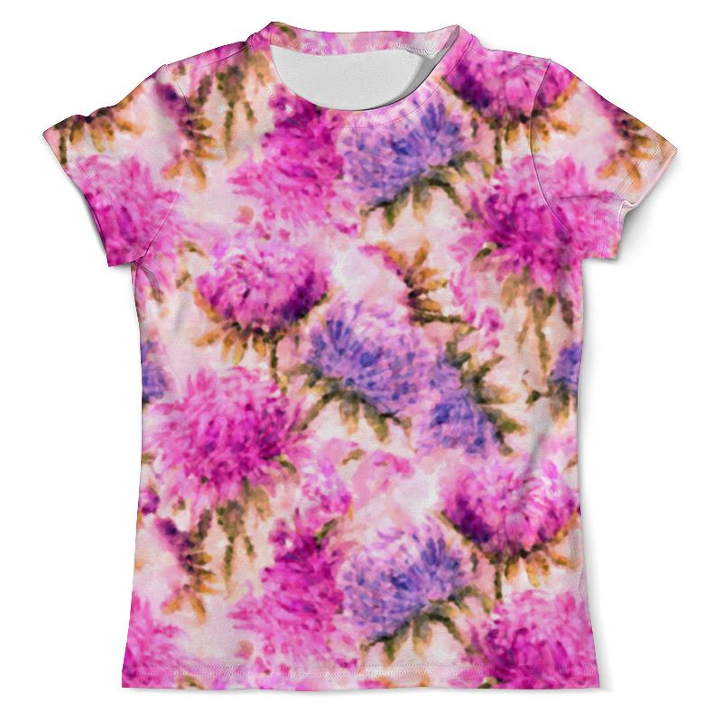 Printio Акварельные яркие розовые цветы