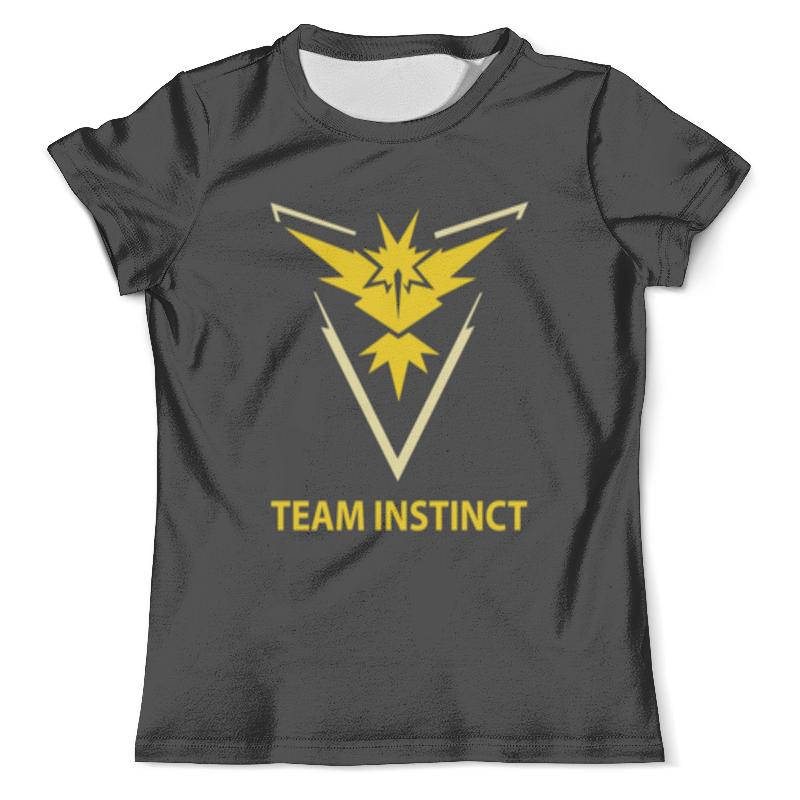 Футболка с полной запечаткой (мужская) Printio Team instinct