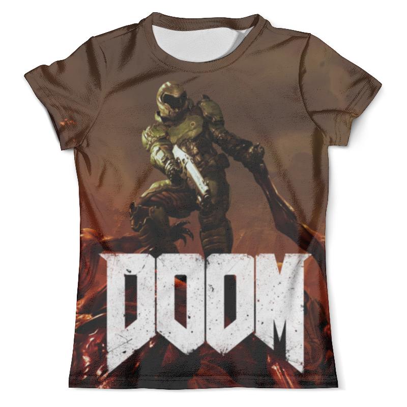 Футболка с полной запечаткой (мужская) Printio Doom (дум) футболка doom