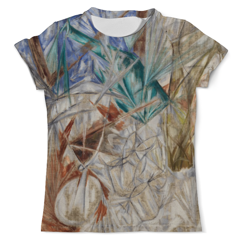 Футболка с полной запечаткой (мужская) Printio Стекло (михаил ларионов) футболка с полной запечаткой мужская printio стекло михаил ларионов