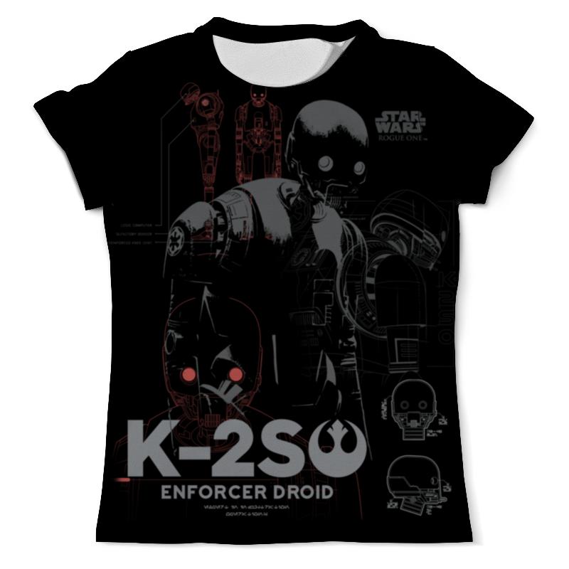 Футболка с полной запечаткой (мужская) Printio Дроид k-2so футболка wearcraft premium printio дроид k 2so