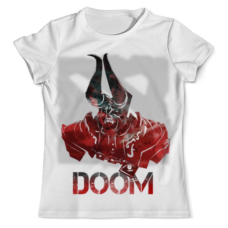 Футболка с полной запечаткой (мужская) Printio Doom dota 2 футболка с полной запечаткой мужская printio герои dota 2