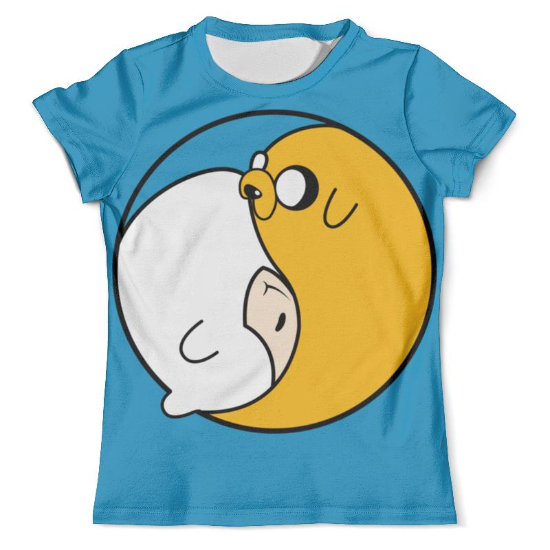 Футболка с полной запечаткой (мужская) Printio Adventure time / время приключений футболка стрэйч printio время приключений adventure time