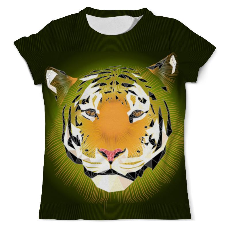 Printio Тигр футболка с полной запечаткой мужская printio тигр гольфист 1