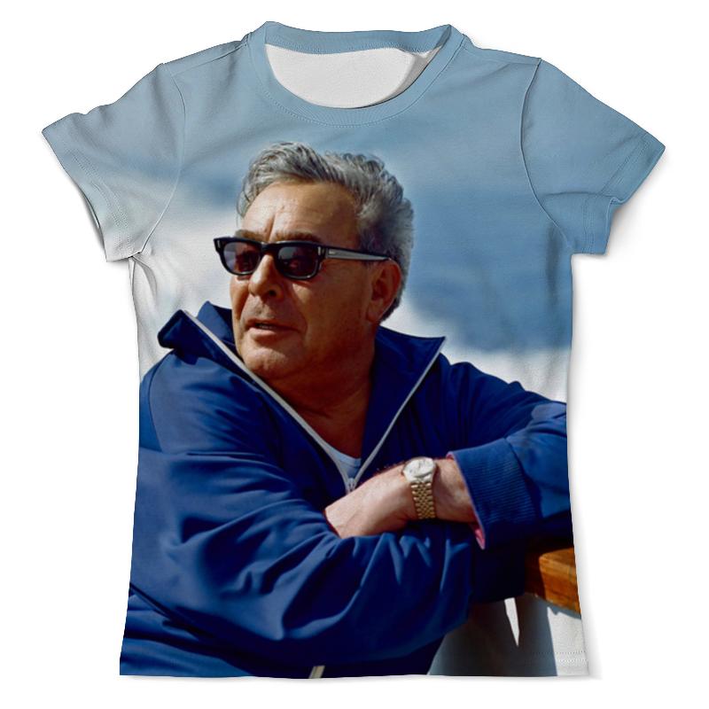 Футболка с полной запечаткой (мужская) Printio Leonid brezhnev design футболка с полной запечаткой мужская printio ananas design