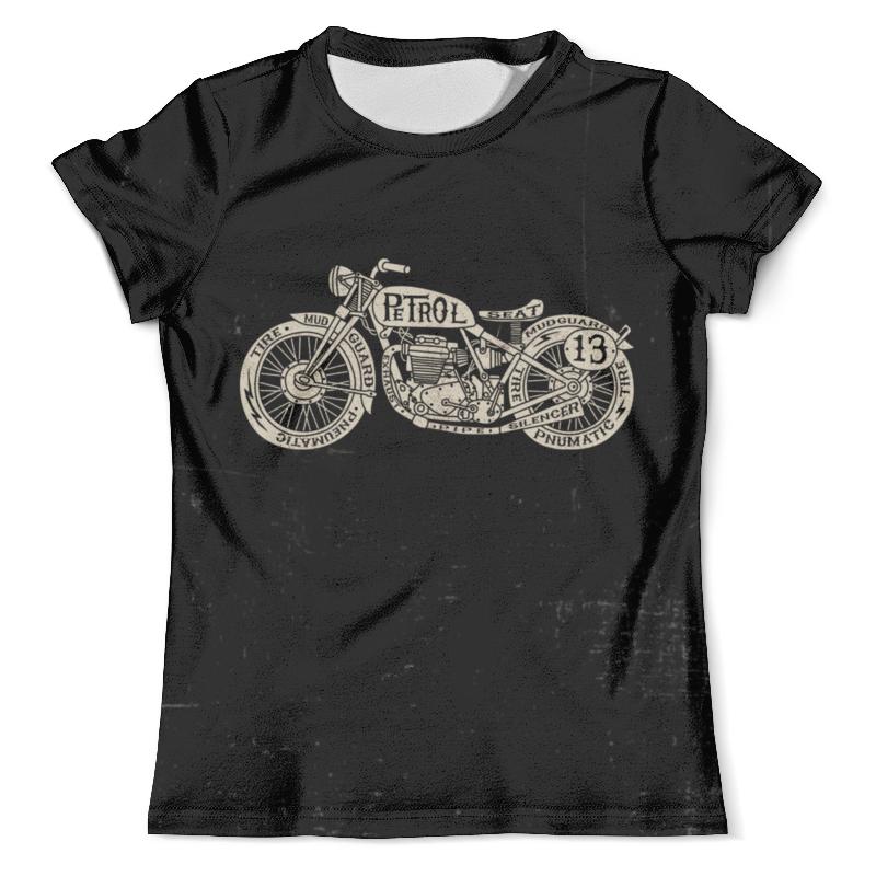 Футболка с полной запечаткой (мужская) Printio Motorcycle