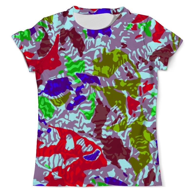 Футболка с полной запечаткой (мужская) Printio Camouflage design xintown camouflage winter long sleeved
