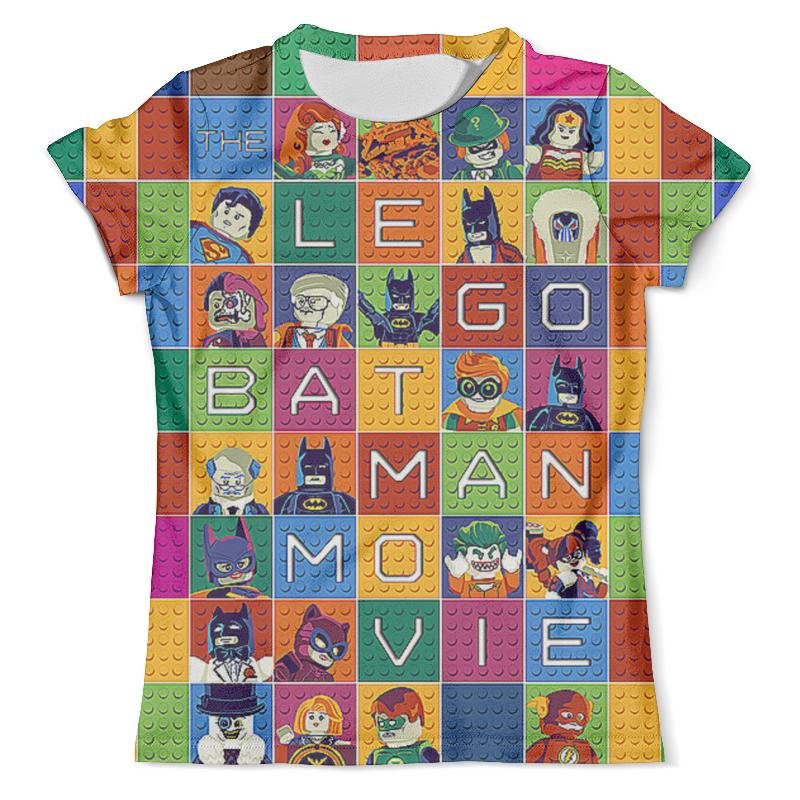 Футболка с полной запечаткой (мужская) Printio The lego batman movie