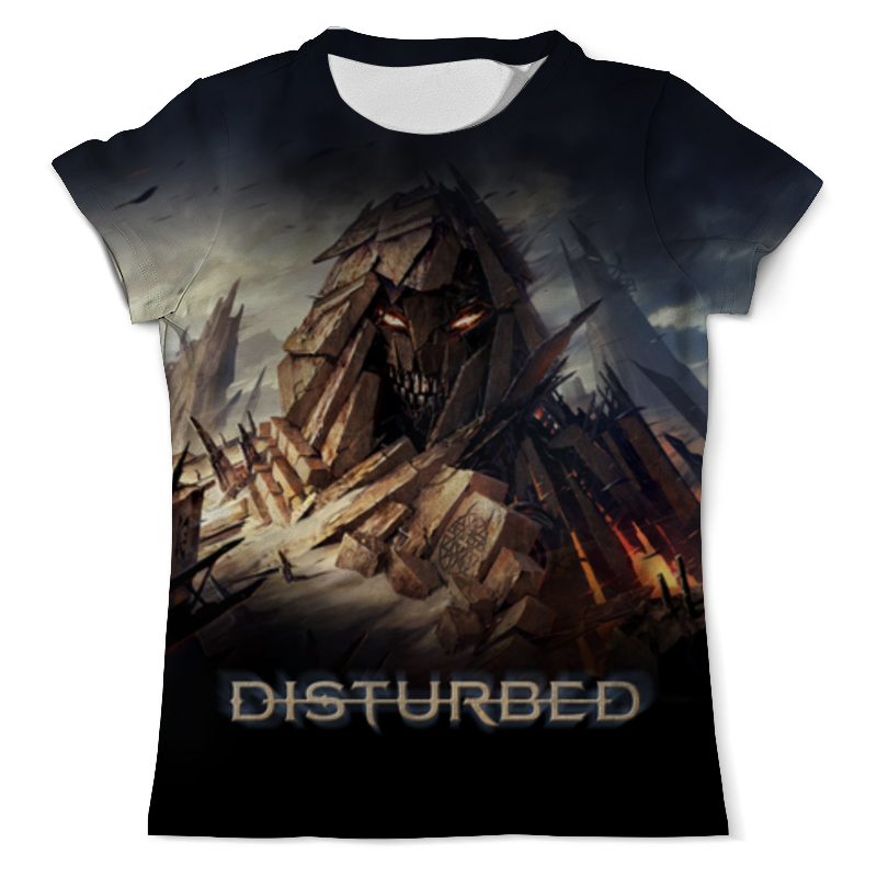 Футболка с полной запечаткой (мужская) Printio Disturbed футболка с полной запечаткой мужская printio мерч группы devil s secrets