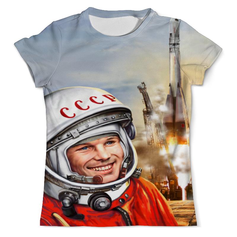 Printio Юрий гагарин (1) футболка с полной запечаткой мужская printio юрий гагарин