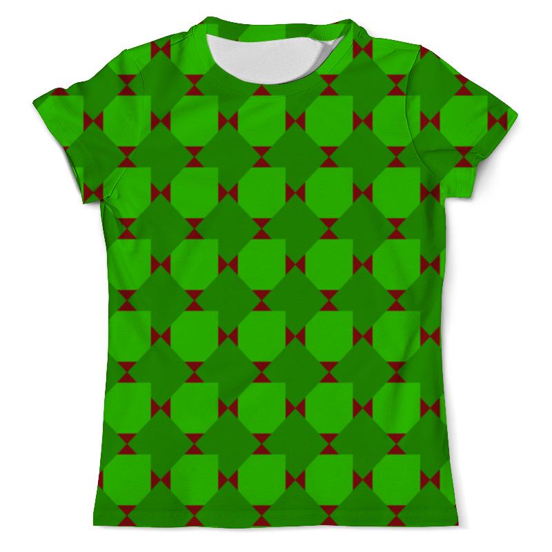 Фото - Футболка с полной запечаткой (мужская) Printio Зеленые ромбы толстовка с полной запечаткой printio зеленые ромбы