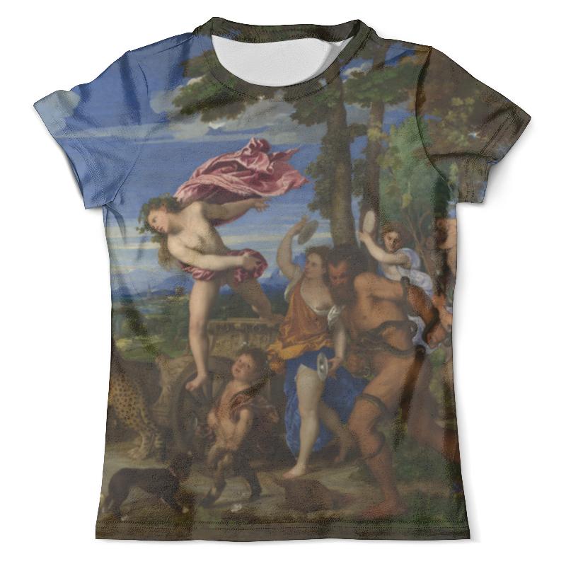 Футболка с полной запечаткой (мужская) Printio Вакх и ариадна (картина тициана) футболка с полной запечаткой мужская printio картина