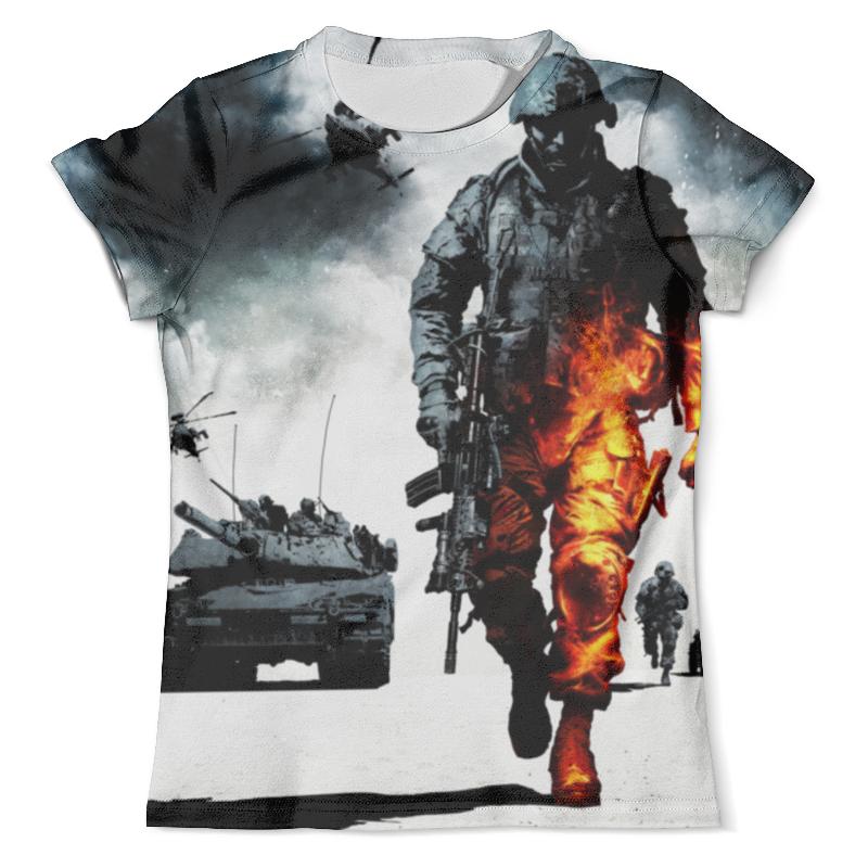 Футболка с полной запечаткой (мужская) Printio Battlefield футболка с полной запечаткой мужская printio battlefield v