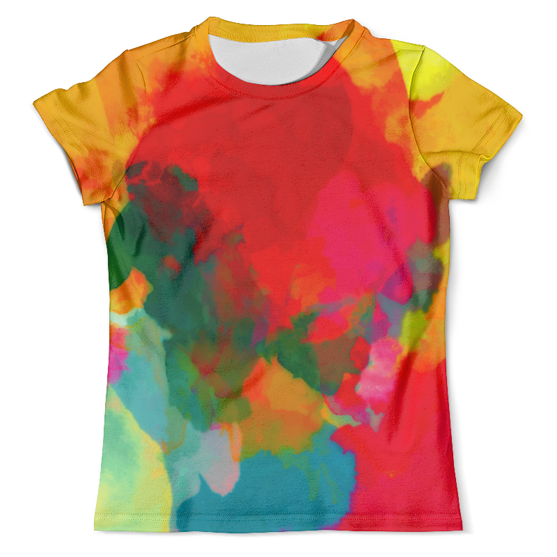 Футболка с полной запечаткой (мужская) Printio Water color футболка мужская ling feng color lf6651 lfcolor