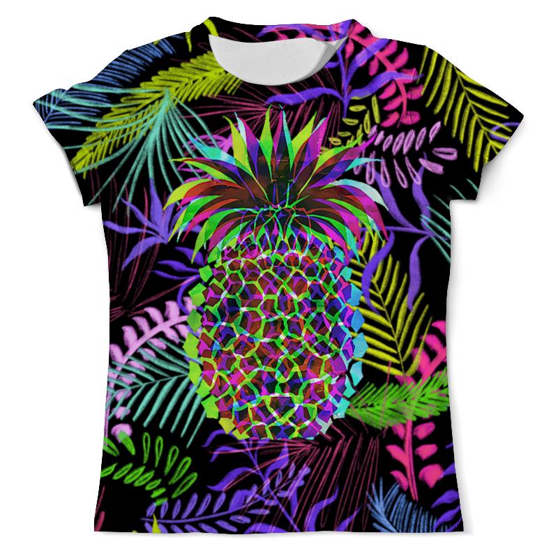 Футболка с полной запечаткой (мужская) Printio Flora design (ananas) футболка с полной запечаткой мужская printio ananas design