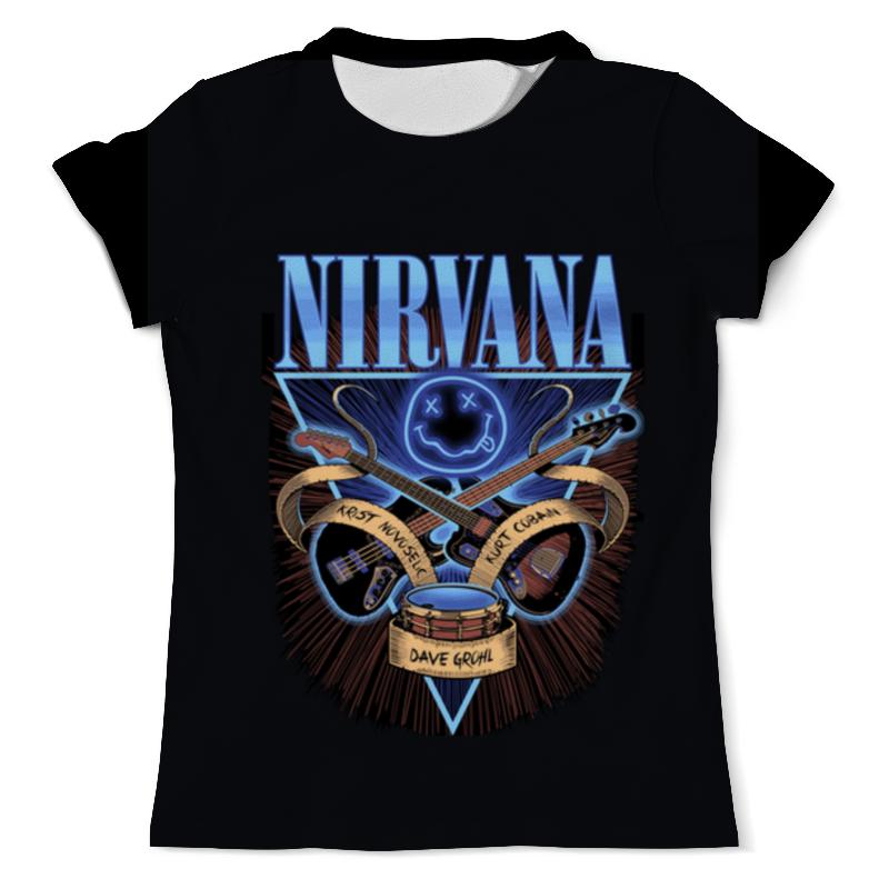 Printio Nirvana толстовка с полной запечаткой printio nirvana