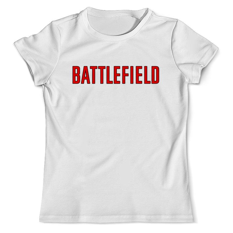 Футболка с полной запечаткой (мужская) Printio Battlefield футболка с полной запечаткой для девочек printio battlefield 1