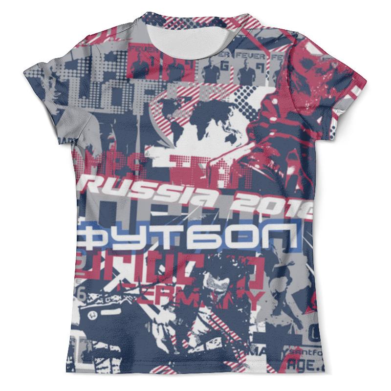 Футболка с полной запечаткой (мужская) Printio Футбол 2016 футболка с полной запечаткой мужская printio dtm 2016 mattias ekstrom