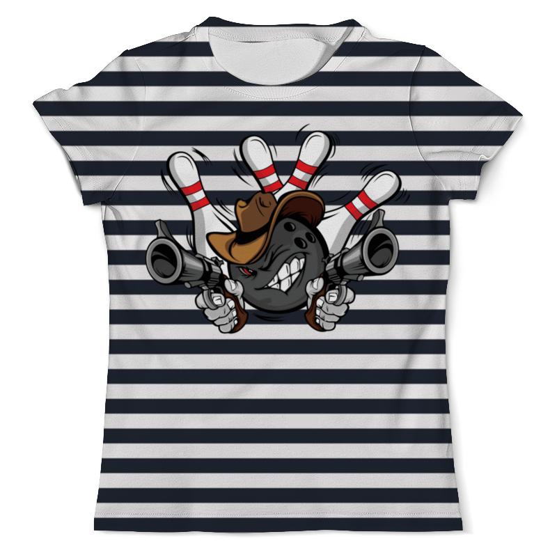 Футболка с полной запечаткой (мужская) Printio Боулинг футболка с полной запечаткой мужская printio боулинг 1