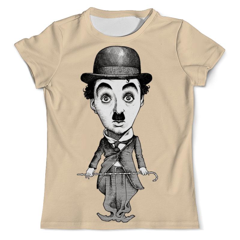 футболка wearcraft premium printio charlie chaplin Футболка с полной запечаткой (мужская) Printio Charlie chaplin