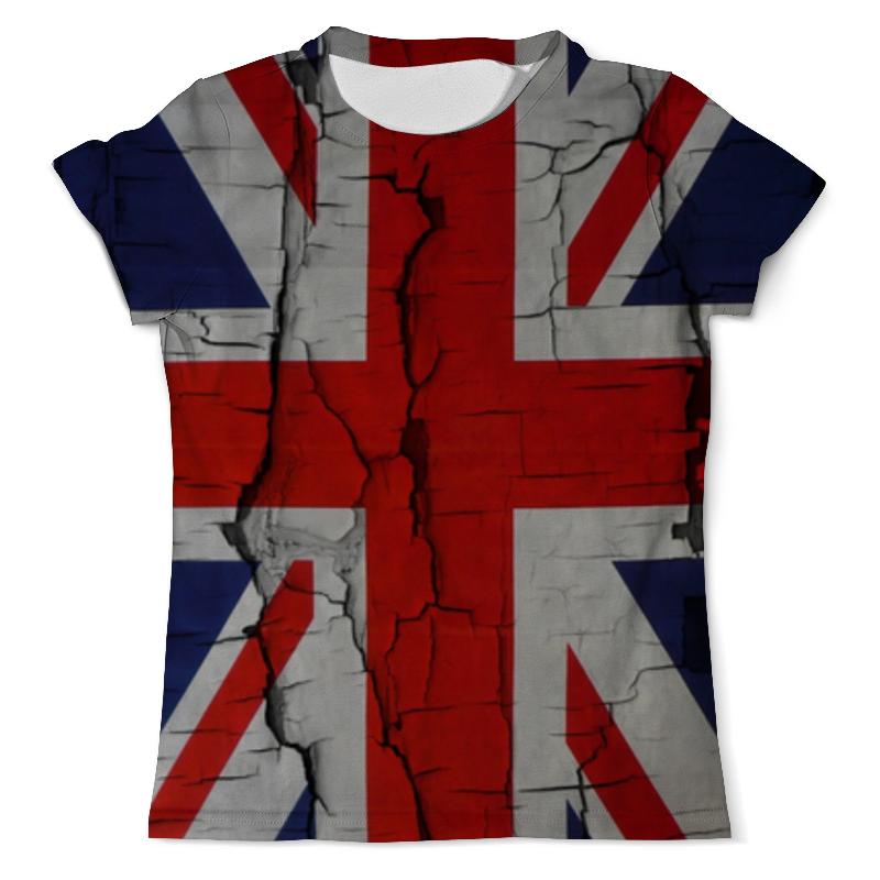 Printio Британский флаг футболка с полной запечаткой мужская printio флаг британии