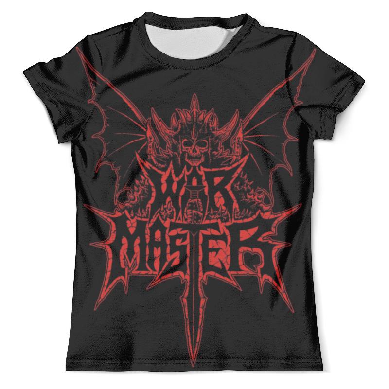 Футболка с полной запечаткой (мужская) Printio War master футболка с полной запечаткой для мальчиков printio war master