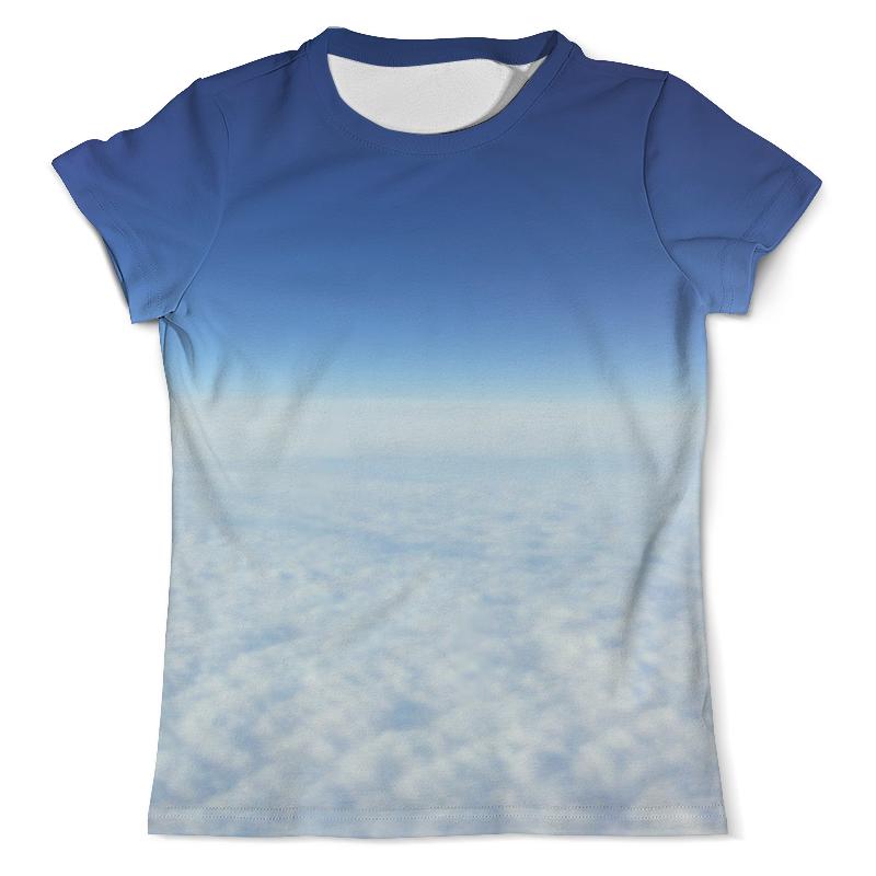 Футболка с полной запечаткой (мужская) Printio Небесная синева футболка с полной запечаткой женская printio синева