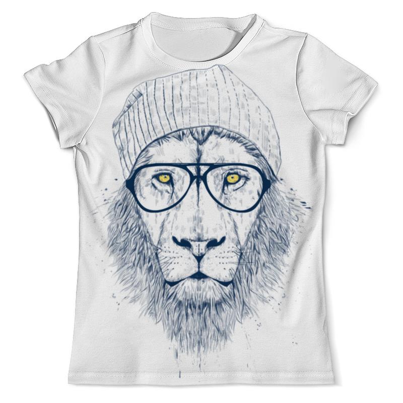 Футболка с полной запечаткой (мужская) Printio Hipster lion 3d 3d graphic lion