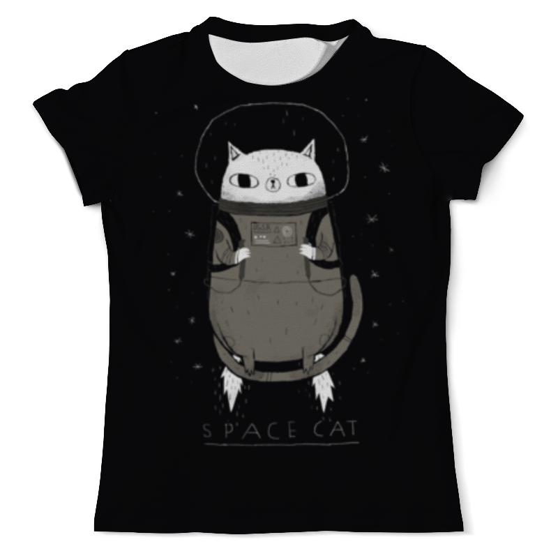 Футболка с полной запечаткой (мужская) Printio Space cat сумка с полной запечаткой printio space cat