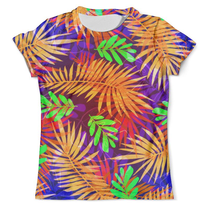Футболка с полной запечаткой (мужская) Printio Flora design футболка с полной запечаткой мужская printio flora
