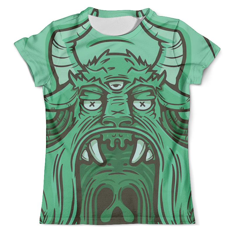 Футболка с полной запечаткой (мужская) Printio Демон футболка с полной запечаткой мужская printio mikhail vrubel демон сидящий