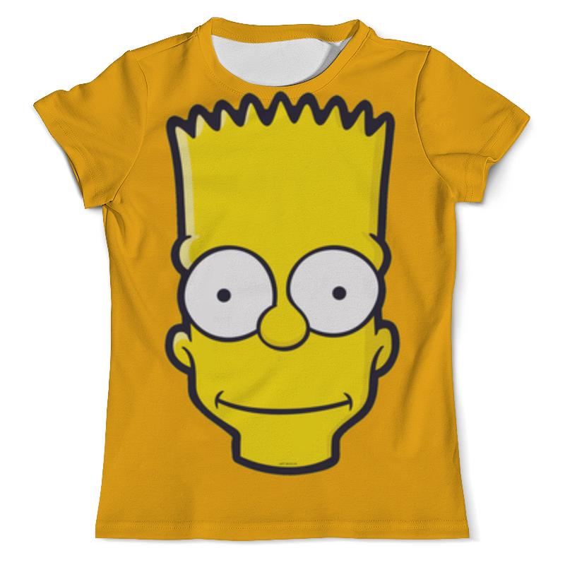 Printio Bart simpson футболка с полной запечаткой мужская printio no problems simpson