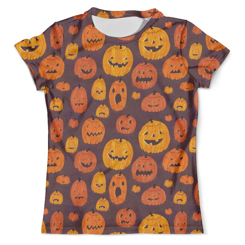 Футболка с полной запечаткой (мужская) Printio Halloween halloween night oil painting square linen decorative throw pillow case kawaii cushion cover