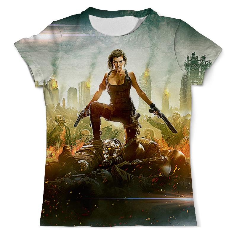 Printio Resident evil футболка с полной запечаткой мужская printio hear no evil see no evil speak no evil