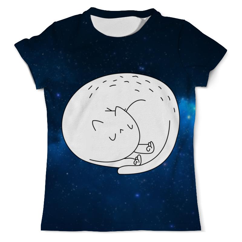 Футболка с полной запечаткой (мужская) Printio Cat ripndip футболка ripndip
