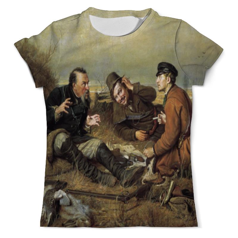 Printio Охотники на привале футболка с полной запечаткой женская printio охотники на ведьм