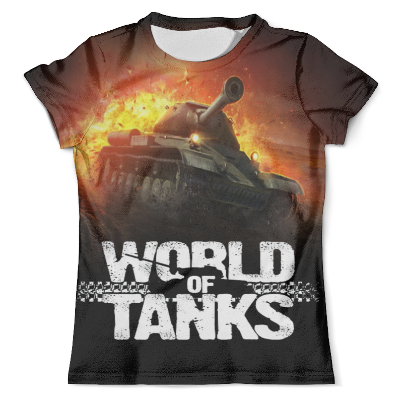 Футболка с полной запечаткой (мужская) Printio World of tanks футболка стрэйч printio world of tanks