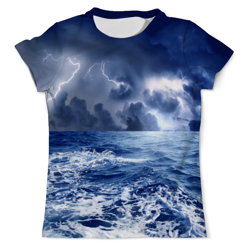 Printio Гроза в море футболка print bar гроза