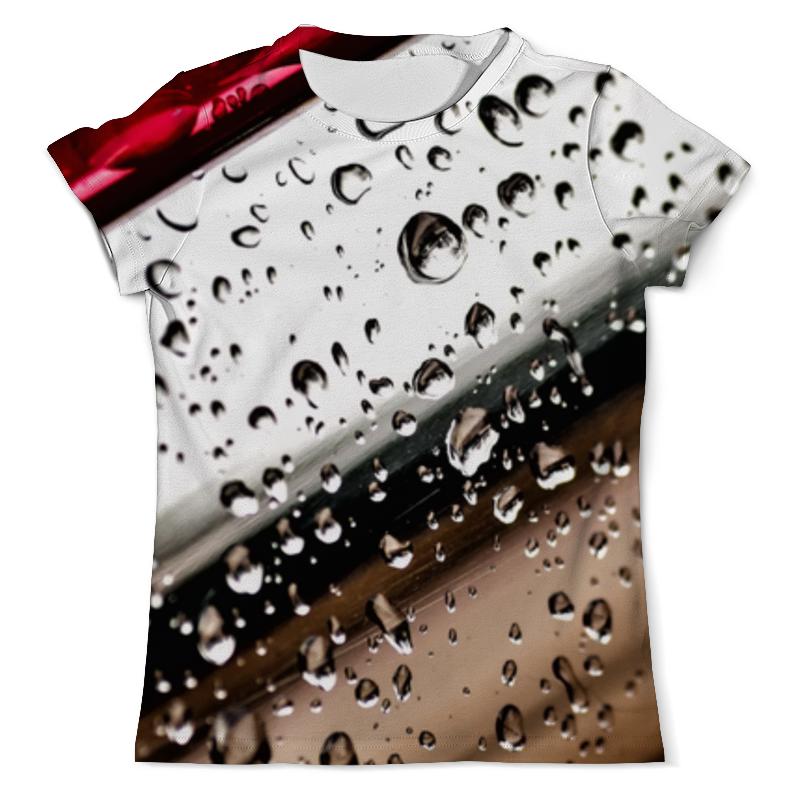 Printio Капли воды 3d футболка с полной запечаткой мужская printio тигр 3d