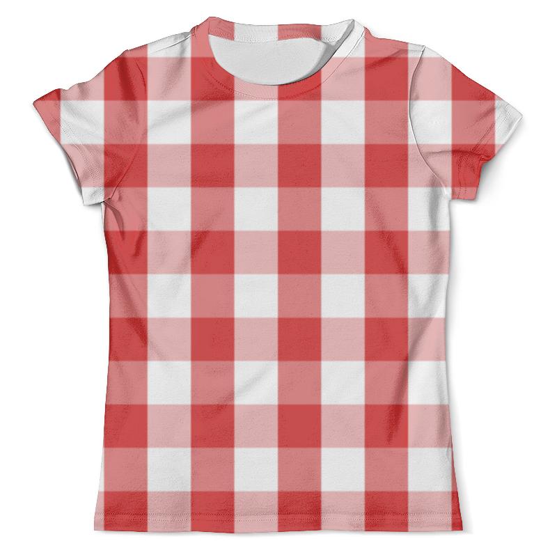 Футболка с полной запечаткой (мужская) Printio Клетка футболка с полной запечаткой мужская printio сара керриган старкрафт