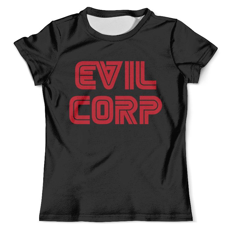 Футболка с полной запечаткой (мужская) Printio Корпорация зла ( evil corp )