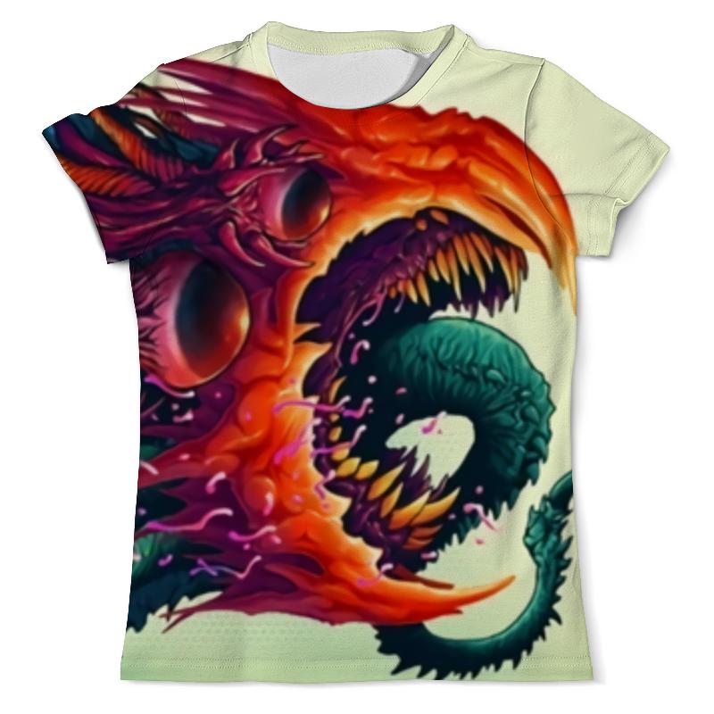 Футболка с полной запечаткой (мужская) Printio Hyper beast футболка с полной запечаткой мужская printio cs go hyper beast black