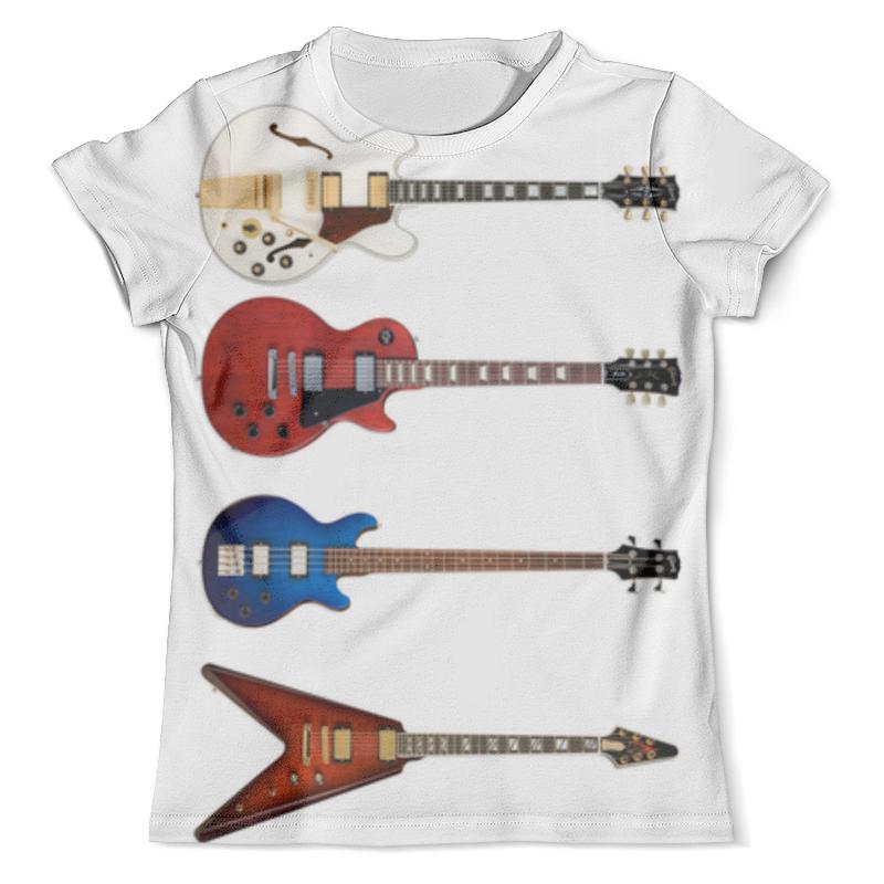 Футболка с полной запечаткой (мужская) Printio Guitar premium stylish guitar capo